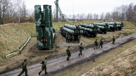 Russian-made S-400 defence system